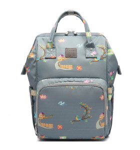 New protable multifunktions wickeltasche rucksack customized premium diaper bags mommy baby bag