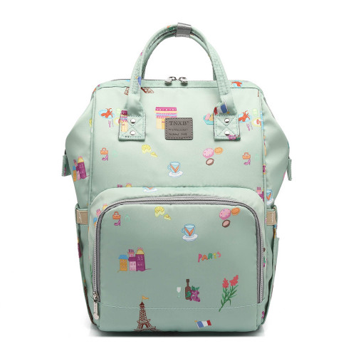 2021  Latest protable multifunktions wickeltasche rucksack customized premium diaper bags mommy baby bags