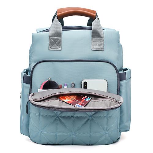 Custom diaper backpack diaper bags for mother  Nylon bags multiple uses backpack