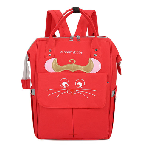 Fashionable multifunctional large-capacity mother and baby bag mouse new shoulder bag diaper bag