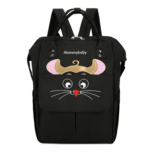 Fashionable multifunctional large-capacity mother and baby bag mouse new shoulder bag diaper bags