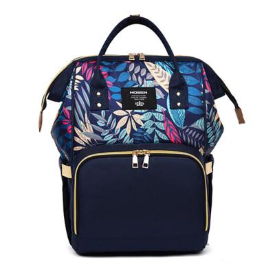 2021 Hot sale oxygen custom logo travel women mummy backpack diaper backpack smooth zipper bags
