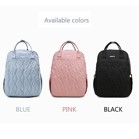 Custom High quality waterproof oxford travel mommy diaper bag 1 buyer oxford bags Pink bags