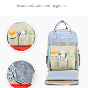 Custom High quality waterproof oxford travel mommy diaper bag 1 buyer
