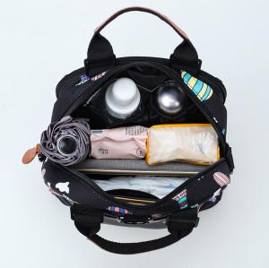 Customs mommy baby backpack diaper bags women