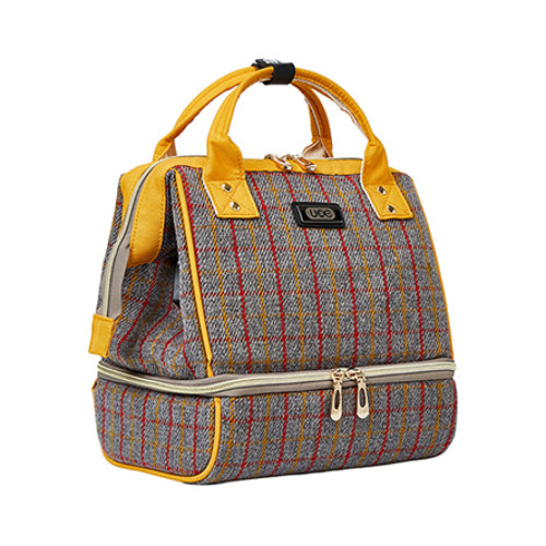 Fashionable bags quilted diaper bag backpack for mommy Diaper  Polyester  bags waterproof bags