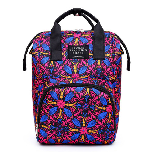 Fashionable Women Polyester bags  cheap multi function baby  Backpack diaper Mommy bags
