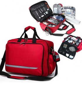 Multifunctional portable resuscitation first-aid kit doctor medical bag