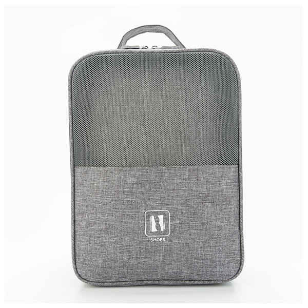 New type of cationic multi-function portable with trolley mesh shoe bag grid shoe bag