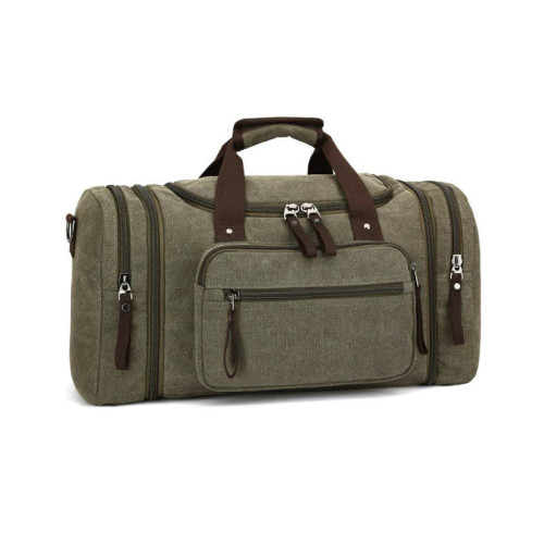 New high quality black canvas fabric outdoor sports bags for men travel Nylon bags  outdoor bags Black bags waterproof bags