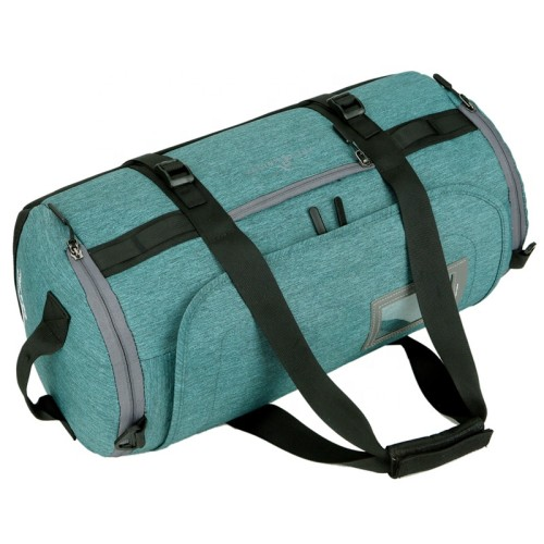 Sports Duffel Gym Bag Foldable Travel Bags Waterproof with shoes compartment