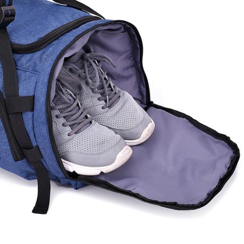 New Hot Factory Large Capacity Multi function Waterproof Nylon man Shoe Sports Gym Duffle Travel Bag