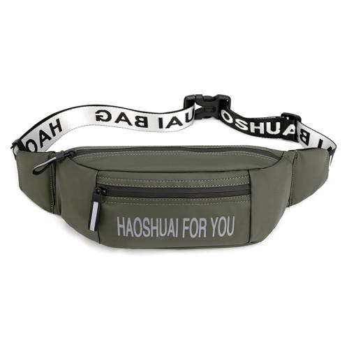 Custom logo waist bag for men Messenger Chest Bags waterproof sports nylon chest bags