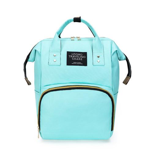 Fashion Large Capacity Diaper Backpack Multifunction Waterproof Custom Mommy Diaper Backpack