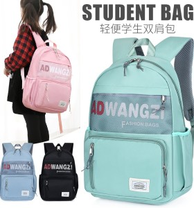 OMASKA big size 44cm school bag anti theft custom laptop school bags backpack Children's bag