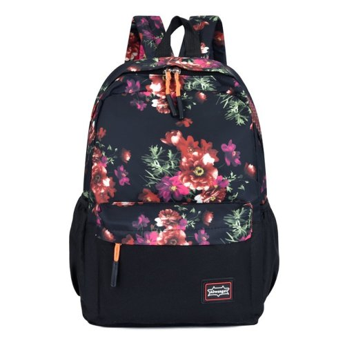 Large student 43cm fashion waterproof anti theft custom laptop school bags backpack Oxford