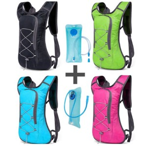 Custom Waterproof Lightweight Trail Race Running Vest with Water Bladder Hydration Backpack Men's and women's bags