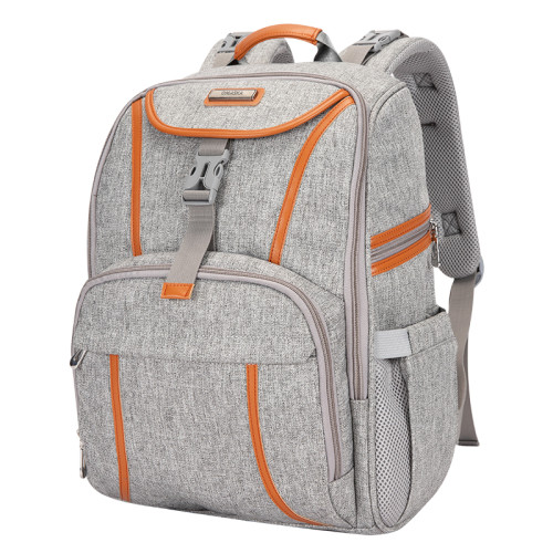 Custom Nappy Bag Large Capacity Mommy Baby Diaper Bag Backpack