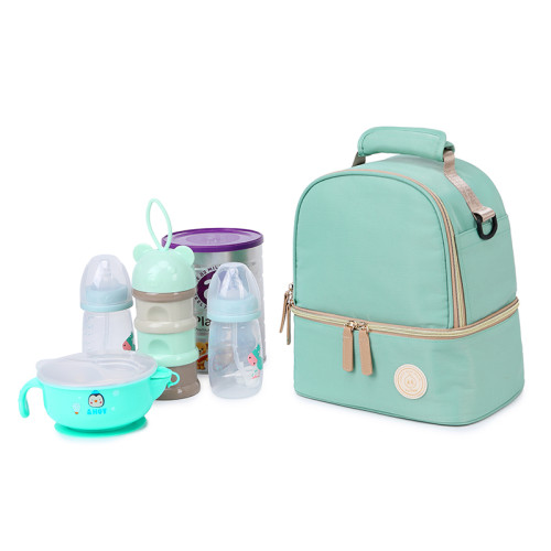 Custom logo fashionable NYLON diaper bag mommy nappy bag 2021 diaper bags