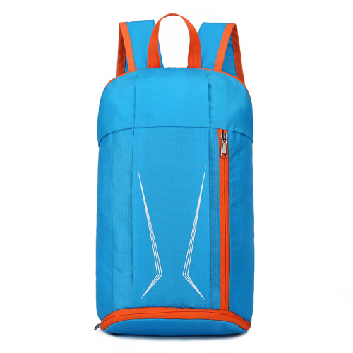 Backpack student bag leisure travel sports outdoor promotional gifts folding backpack custom LOGO
