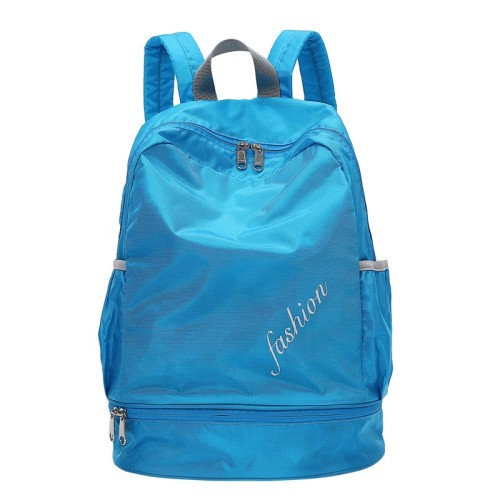 With shoe compartment sports bags for gym travel school outdoor backpack
