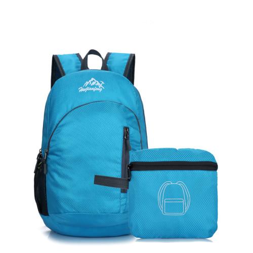 New trending waterproof travel folding backpacks super light foldable backpack