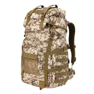 Custom Military Climb canvas mountain terrain Army Military Backpack