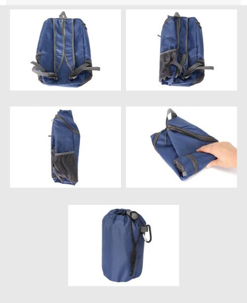 Wholesale waterproof travel Bag folded backpack lightweight folding backpack