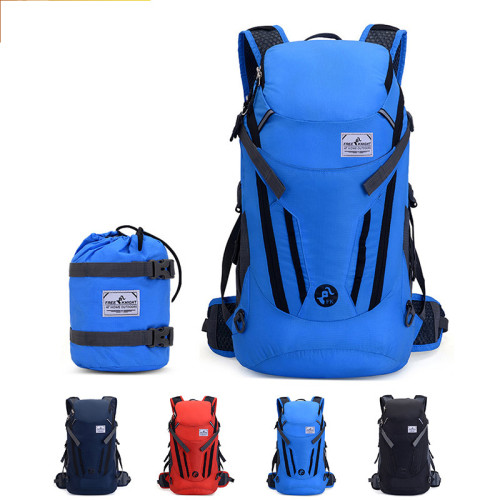 Promotional Camping Hiking reflective foldable decron waterproof bags outdoor