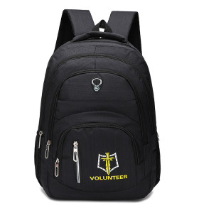 Multifunction Slim laptop bag backpack travel bag with Embroidery