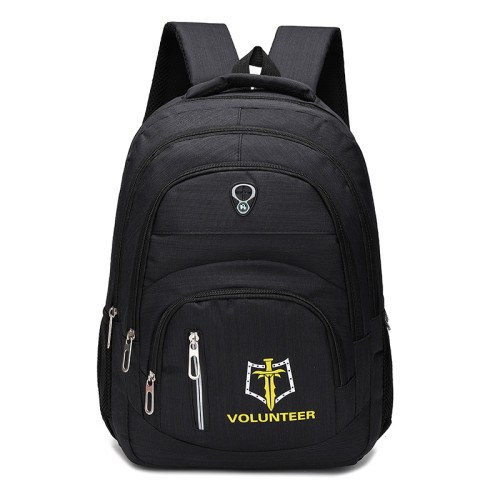 Multifunction Slim laptop backpack outdoor travel waterproof bag with Embroidery Leisure backpack