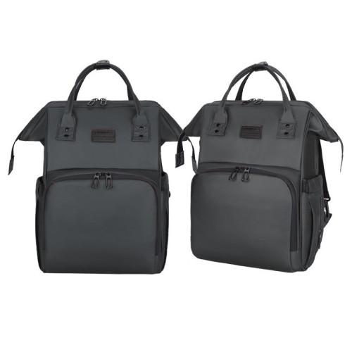 New fashion safe portable designer backpack diaper backpack bag waterproof baby diaper backpack