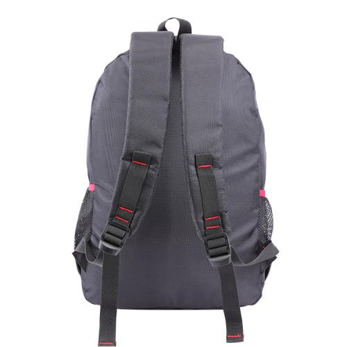 Custom large capacity travel backpack black men laptop school backpack