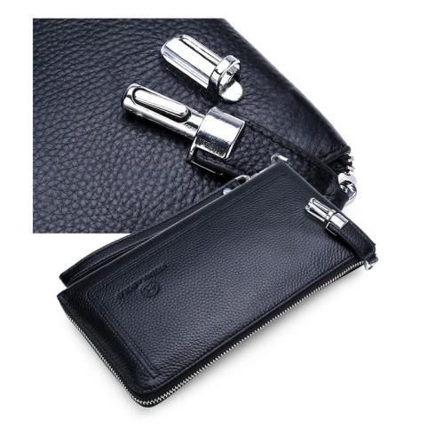 New Stylish Men Clutch Wallet Wholesale Anti-theft Men Shot Clutch Wallet