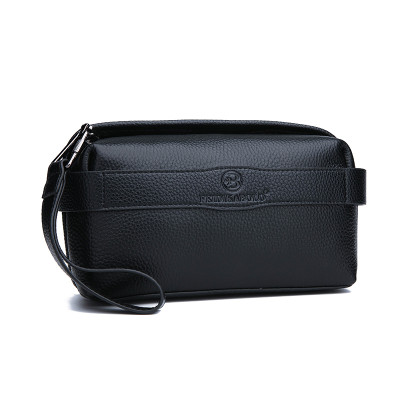 Wholesale Stylish Genuine Leather Clutch Bag for Men Business Travel Clutch Bag