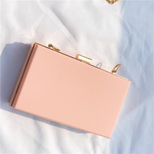 Fashion evening bag women clear acrylic clutch bag