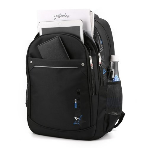 Best sell backpack men reflective bags strong oxford smart anti-theft backpack laptop backpack