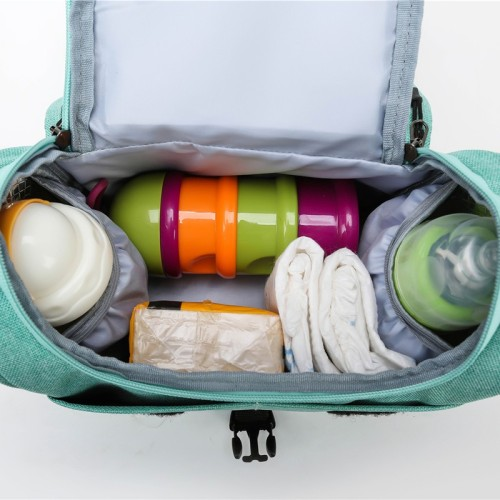 Fashion design single shoulder baby bag diaper bag multi-function bags