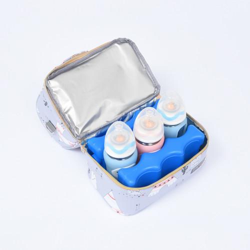 2020 hot selling custom insulated lunch bag breastmilk cooler bag Diaper bags