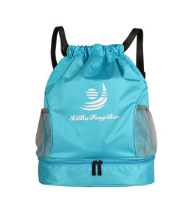Custom logo waterproof swim bag Dry and wet separation men women swimming backpack