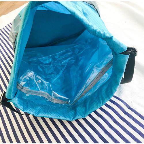 Custom logo waterproof swim bag Dry and wet separation men women swimming backpack