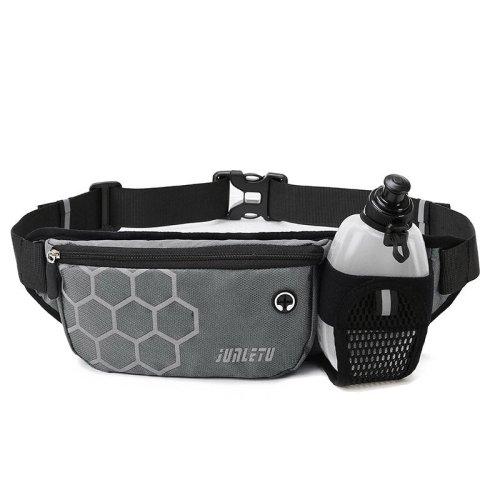 Outdoor Neoprene Waterproof Hiking Cycling Running Belt Waist Bag With Water Bottle Holder chest bag