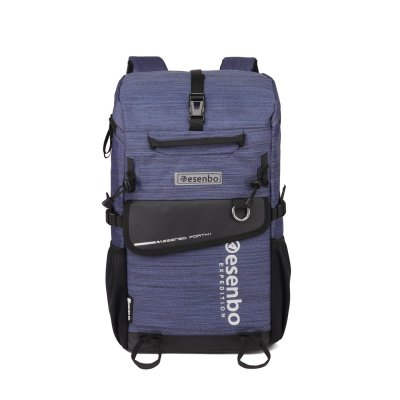 New arrivals light weight waterproof leisure school bag Blue college laptop backpack Travel bag