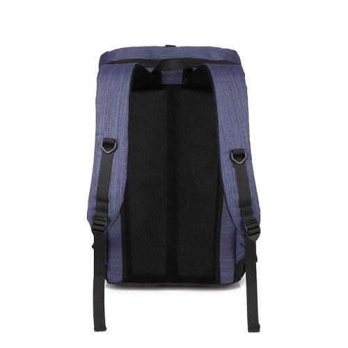 New arrivals light weight waterproof leisure school bag Blue college laptop backpack Travel bag