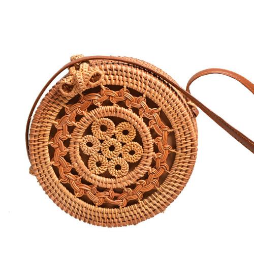 Autumn Winter wholesale woven rattan bags