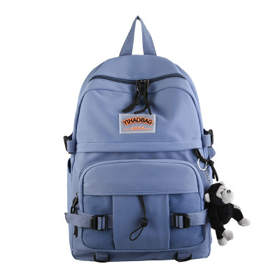 Fashion Trend Backpacks Large Capacity College School Bags Multifunctional Leisure Backpacks