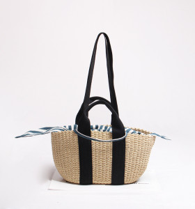 Handmade Woven Straw Bag Summer Women Messenger Crossbody Bags Girls Beach Handbag 2020