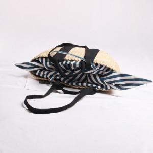Handmade Woven Straw Bag Summer Women Messenger Crossbody Bags Girls Beach Handbag 2020