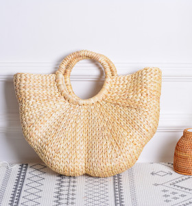 2021 NEW straw made lady hand bag beach tote bag