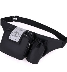 Waterproof women sport cross body bag fashion waist bag chest bag